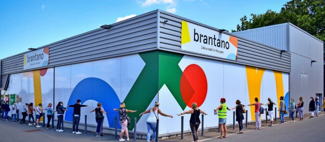 Brantano was wellicht de bekendste keten van FNG. ©BELGA